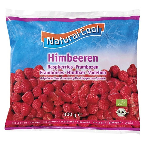 Natural Cool, Raspberries bio 300g