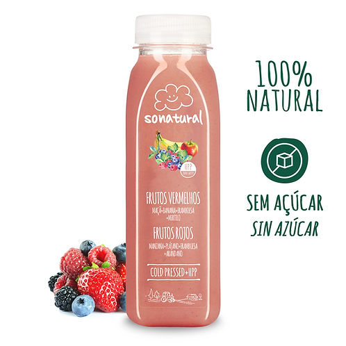 So Natural, Red fruits Juice 250ml