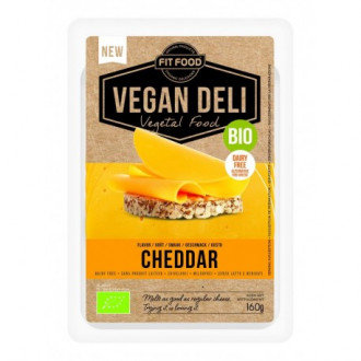 Fit Food, Vegan Cheddar Cheese slices 160g