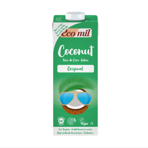 Ecomil, Coconut milk with Agave bio 1L