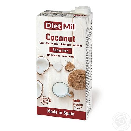 Dietmil, Coconut milk (sugar free) 1L