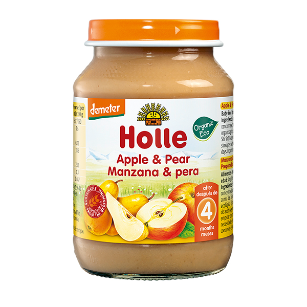 Holle Organic Apple and Pear Baby Food.p