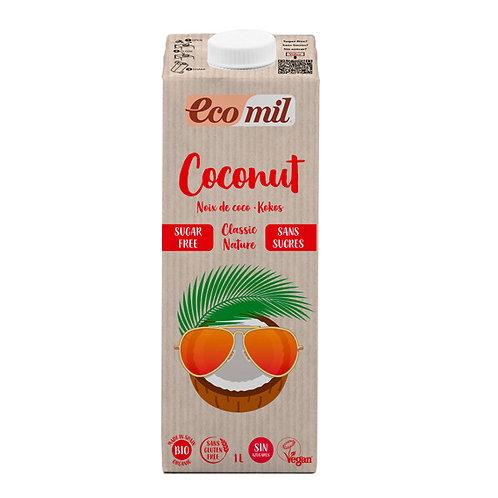 Ecomil, Coconut milk classic (sugar free) bio 1L