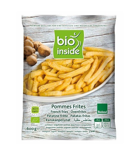 Bio Inside, French fries bio 600g