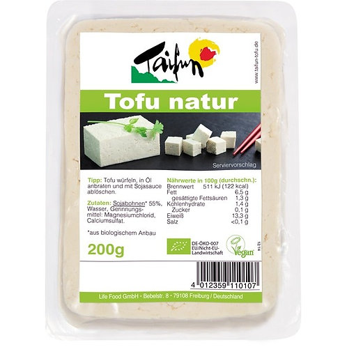 Taifun, Tofu - Soya Natural bio 200g