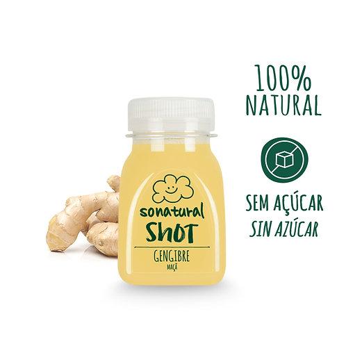 So Natural, Ginger - apple Juice shot 125ml