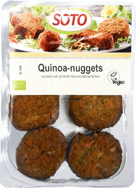 Soto, Quinoa Nuggets bio 195g
