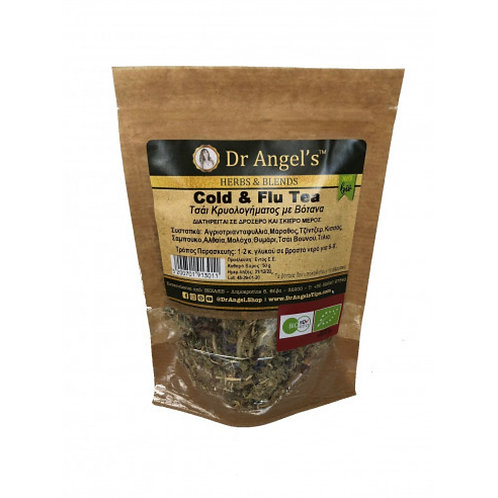 Dr. Angels, Cold & Flu tea bio 50g