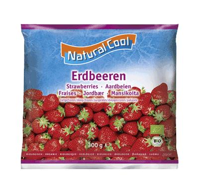Natural Cool, Strawberries bio 300g