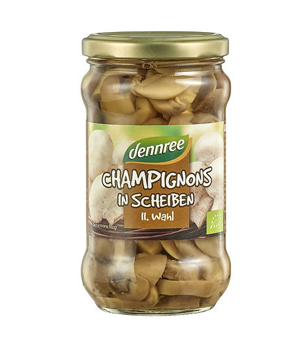 Dennree, Mushrooms sliced bio 280g