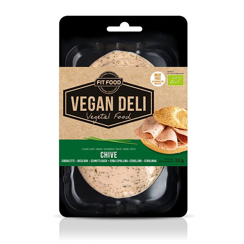 Fit Food, Vegan Chives Slices bio 100g