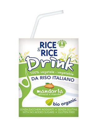 Probios, Almond - Rice milk natural bio 200ml