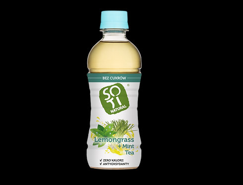 Soti, Lemongrass & Mint tea bio 340ml