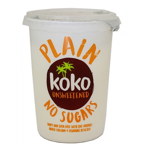 Koko, Plain Yogurt No Sugar 500g