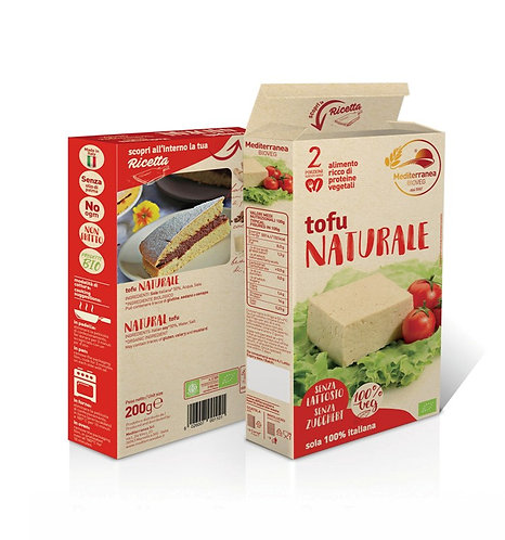 Mediterranea, Tofu natural bio 200g