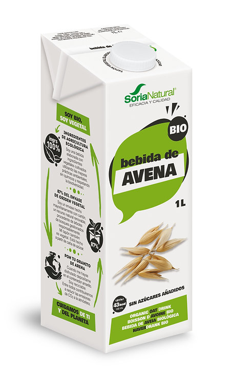 Soria Natural, Rice milk bio 1L