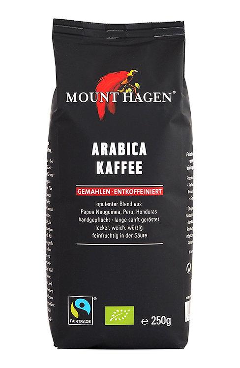 Mount Hagen, Filter Coffee Arabica (CAFFEINE FREE) bio 250g