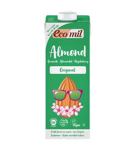 Ecomil, Almond milk original with agave bio 200ml