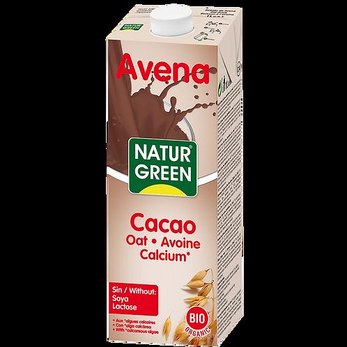 Natur green, Oat - Cacao milk bio 1L