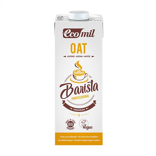 Ecomil, Barista Oat milk - Professional bio1L