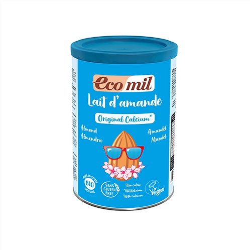 Ecomil, Almond milk with Calcium instant powder bio 400g