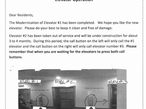 Elevator Operation