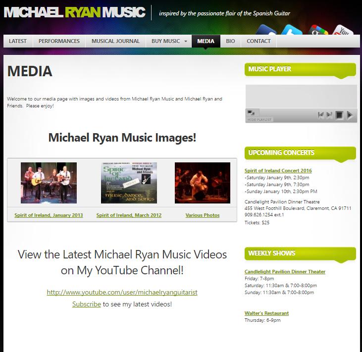 old website media