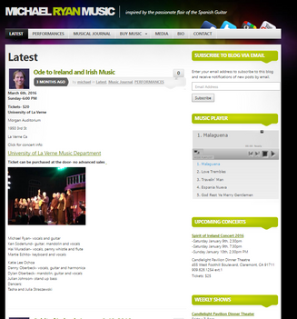 2012 New Website Design!