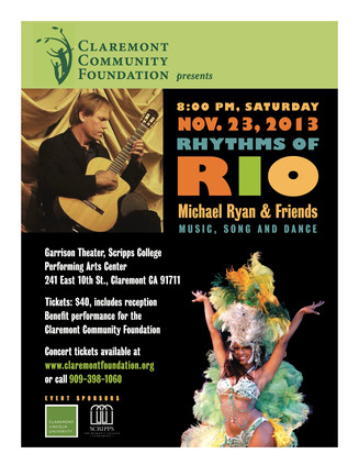 """Rhythms of Rio"" Concert- Saturday November 23rd"
