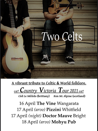 Two Celts live at The Vine 16/04
