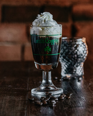 Irish coffee $17
