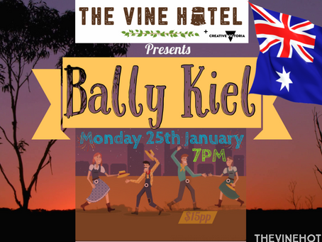 Bally Kiel live @ The Vine Hotel 25/01