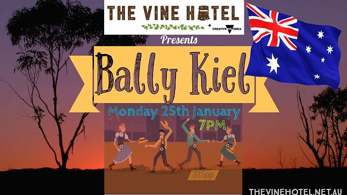 Bally Kiel live @ The Vine Hotel 25/01