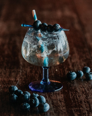 Blueberry Gin Fizz $20