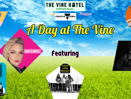 A Day At The Vine Sat 19th Dec @ 3pm