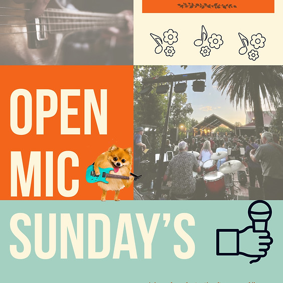 Open Mic Sundays at The Vine