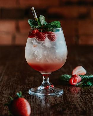 Gin berry fizz $20