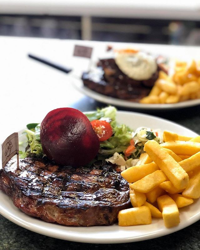 Steak it easy! 🥩🐮🍴😋