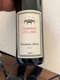 Booths Taminick Cellars Shiraz (Glenrowan) 2015