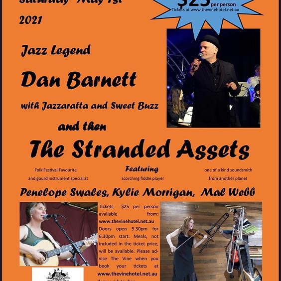Across the Arts concert Ft Dan Barnett & The Stranded assets