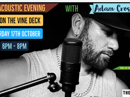 Adam Crossman Live on sale now