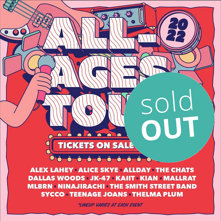 All-Ages Tour | The Chats and Teenage Joans