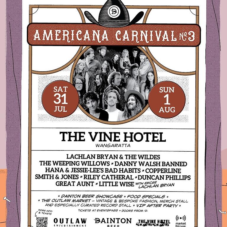 Dainton Beer presents – The Americana Carnival #3