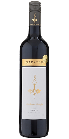 Gapsted Canopy Durif (King Valley) 2018