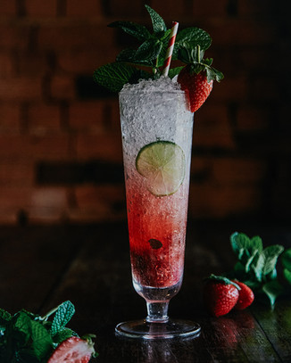 Strawberry Mojito $20