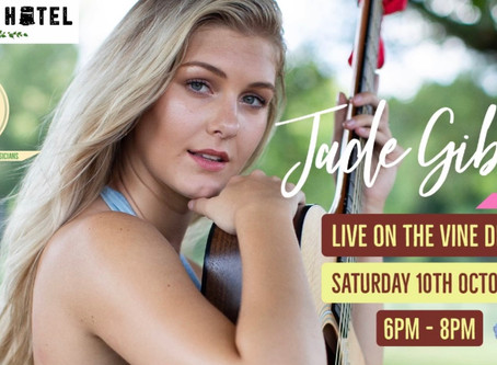 Jade Gibson live, Tickets now on sale 10/10
