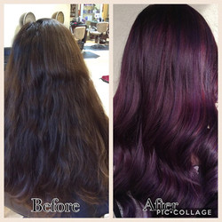 Purple Hair Pic 2017