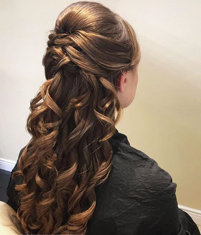#bridesmaidhair _elle_salon_ ! _Hair by_