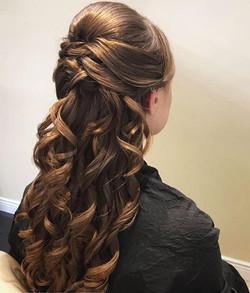 #bridesmaidhair _elle_salon_ ! _Hair by_