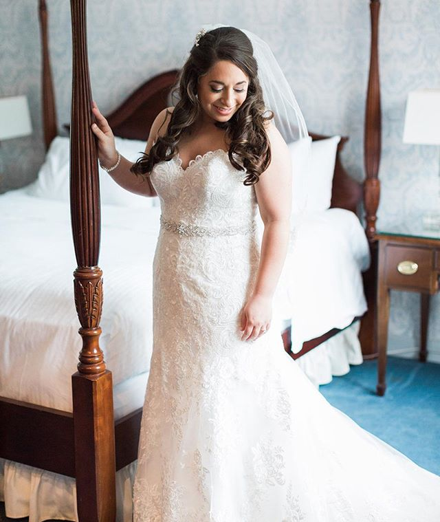 One more of our #bombshell #bride Jessic